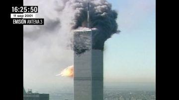 El 11S en un minuto: este fue el perfecto resumen de Antena 3 sobre lo que estaba pasando en pleno directo en EEUU