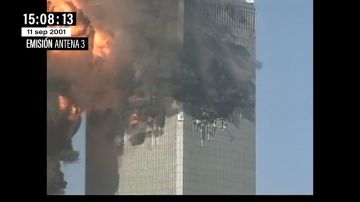 """Cuando Matías Prats mostró las imágenes de las Torres Gemelas el 11S: """"Están ardiendo como chimeneas gigantes"""""""