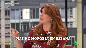 Valeria Vegas lanza una reflexión muy clara sobre la violencia contra el colectivo LGTBI
