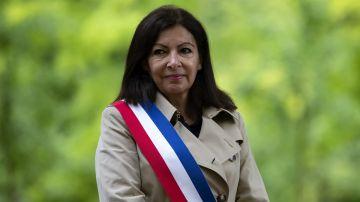 La alcaldesa de París, la socialista Anne Hidalgo, en una fotografía de archivo.