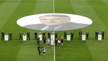 Homenaje a Lorenzo Sanz