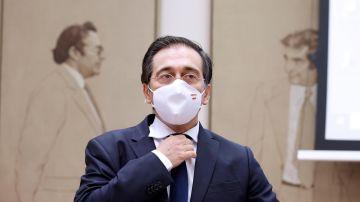 El ministro de Asuntos Exteriores, José Manuel Albares en imagen de archivo.