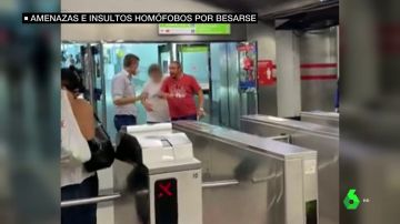 insultos homófobos Metro