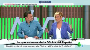 """La reflexión de Cristina Pardo sobre la Oficina del Español: """"Parece que se querían quitar de encima a Toni Cantó"""""""