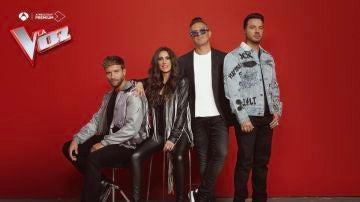 Llega lo nuevo de 'La Voz', con Alejandro Sanz, Luis Fonsi, Malú y Pablo Alborán