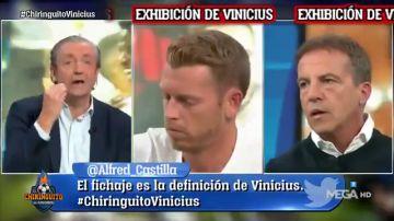 """'Rapapolvo' de Josep Pedrerol a Jota Jordi y Cristóbal Soria: """"Agachad la cabeza con Vinicius"""""""