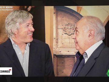 José Luis Moreno con Alejandro Roemmers