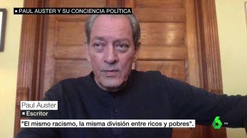 entrevista Paul Auster a laSexta