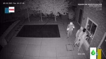 El impactante vídeo de la cámara de seguridad de la casa del futbolista Reece James mientras le robaban