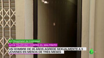 agresor cinco mujeres Barcelona