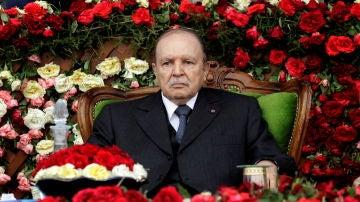 El expresidente de Argelia Abdelaziz Bouteflika