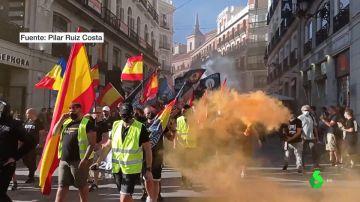 """Grupos neonazis marchan por Chueca al grito de """"fuera, maricas, de nuestros barrios"""""""