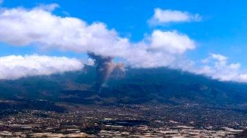 Imagen del volcán de La Palma