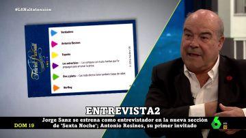 Antonio Resines en laSexta Noche