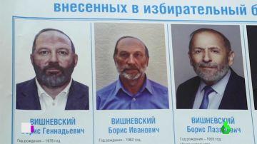 Candidatos 'clonados' en Rusia