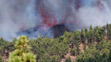 Erupción en la Cumbre Vieja