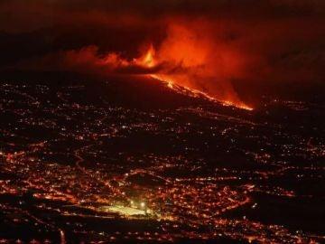 Erupción del volcán en La Palma