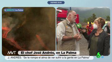 """El llamamiento del chef José Andrés tras la erupción: """"No hay que olvidarse de de la isla de La Palma"""""""