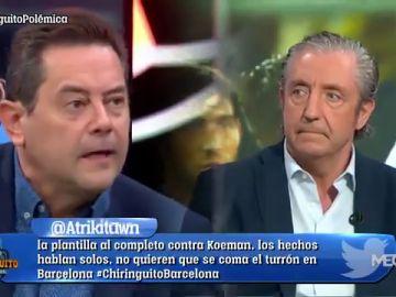 """Tomás Roncero se desata en 'El Chiringuito': """"El Barça me da pena"""""""