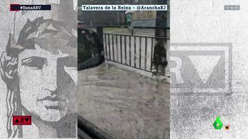 Inundaciones en Talavera de la Reina, Toledo