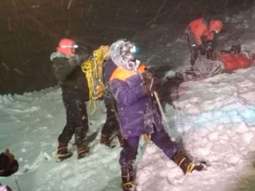 Mueren cinco alpinistas en el Elbruz tras quedarse atrapados a -20 grados en una tormenta de nieve