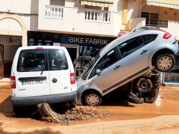 Las brutales imágenes que dejan las inundaciones en Lepe