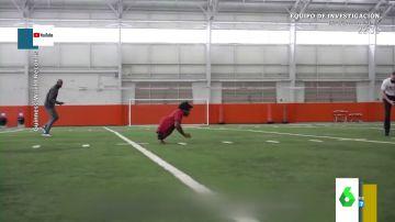 La espectacular carrera de Zion Clark, el atleta sin piernas más rápido del mundo en correr con los brazos