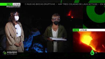 Gloria Serra tiene que adoptar medidas extremas de precaución por la explosividad del volcán de La Palma