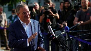 El candidato conservador a la Cancillería alemana, Armin Laschet