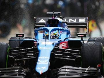 Fernando Alonso, en Rusia