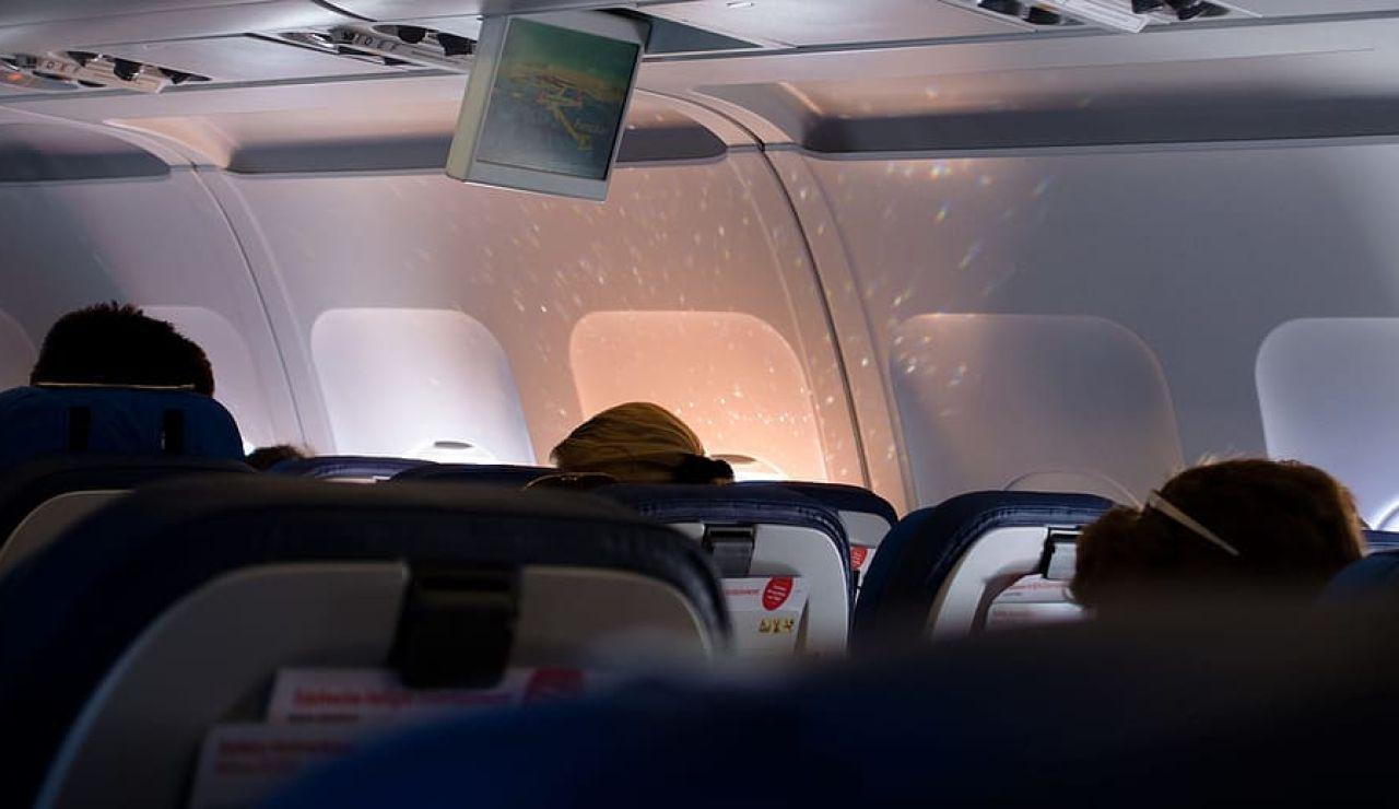 Dormir durante el vuelo