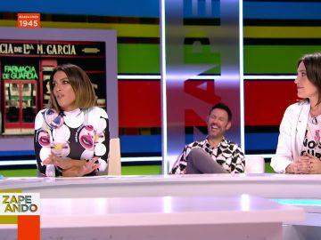 Lorena Castell interrumpe en directo a Boticaria García para aclarar sus palabras sobre su hermano