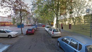 La zona en la que tuvieron lugar los hechos, en el Polígono Norte de Sevilla
