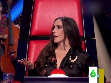 """""""¿Qué pasa aquí?"""": Malú alucina al escuchar cómo comienza a cantar Jorge da Rocha en las audiciones de La Voz"""