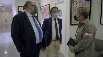 Alberto Chicote pone contra las cuerdas al director del colegio San Patricio en 'Te lo vas a comer'