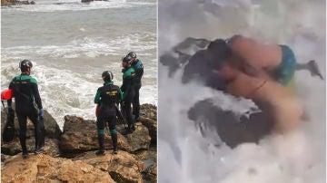 Mueren dos profesores de fitness tras ser engullidos por las olas en Torrevieja