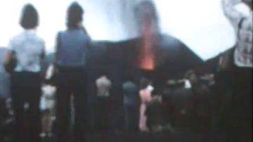 Imágenes inéditas de la erupción del volcán Teneguía, en 1971 en La Palma