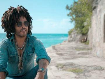 Si quieres visitar a Lenny Kravitz tendrás que volar a las Bahamas