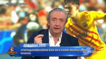 """Pedrerol, tras la debacle del Barça: """"El ADN no existe, es un estilo que marcó Cruyff y se acaba sin los mejores"""""""