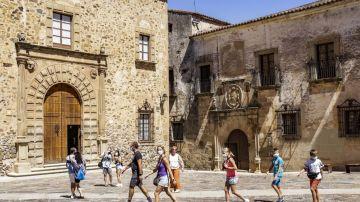Cáceres recupera el turismo en agosto con niveles previos a la pandemia