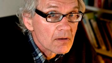 El artista sueco Lars Vilks, autor de una polémica caricatura de Mahoma.