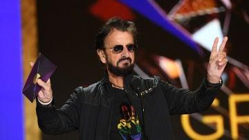 Ringo Starr durante la ceremonia de los Grammy en Los Ángeles. Marzo de 2021