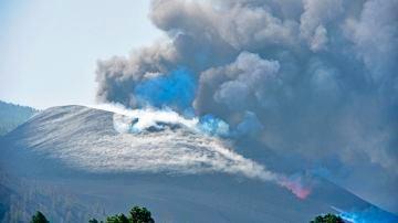 Volcán de La Palma de día