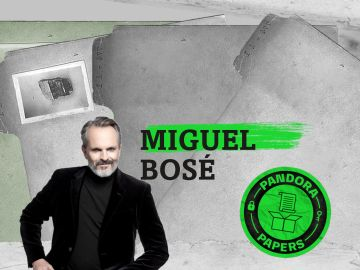 Miguel Bosé aparece en los Pandora Papers