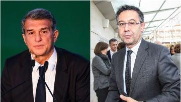 Joan Laporta y Josep María Bartomeu