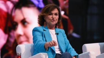 """Carmen Calvo insta a abolir la prostitución y advierte de que """"el feminismo no es un cajón de sastre"""""""