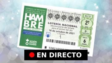 Lotería Nacional: comprobar resultados de hoy, sábado 16 de octubre, en directo
