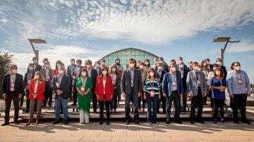 Foto de familia en el 40º Congreso del PSOE