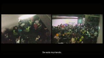 """Las espeluznantes llamadas al SAMUR la noche del Madrid Arena en 2012: """"¡Se está muriendo, por favor!"""""""