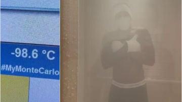 Hamilton, a -100 grados